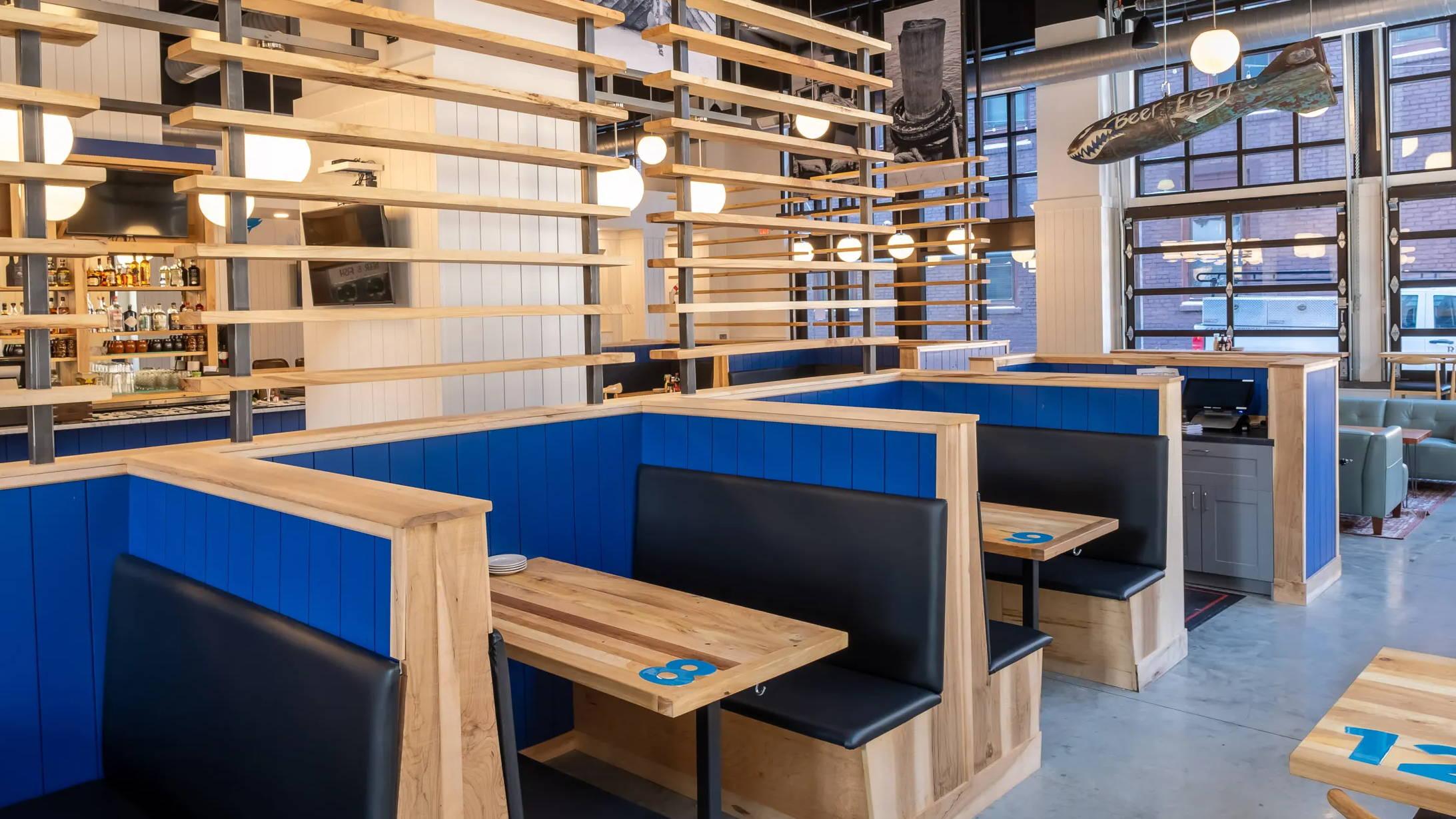 restaurant tabletops reclaimed wood