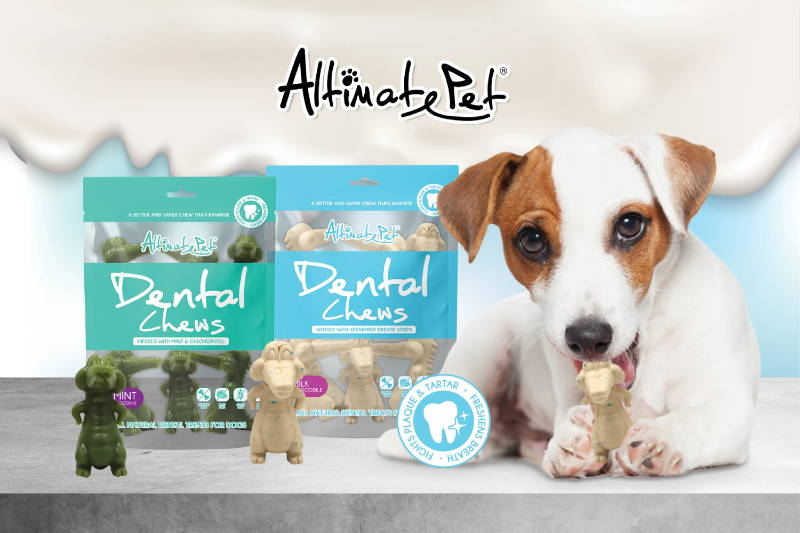 Altimate Pet dental chew mobile banner