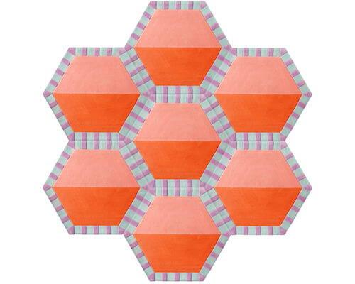 Kinder Ground Honeycomb Carpet