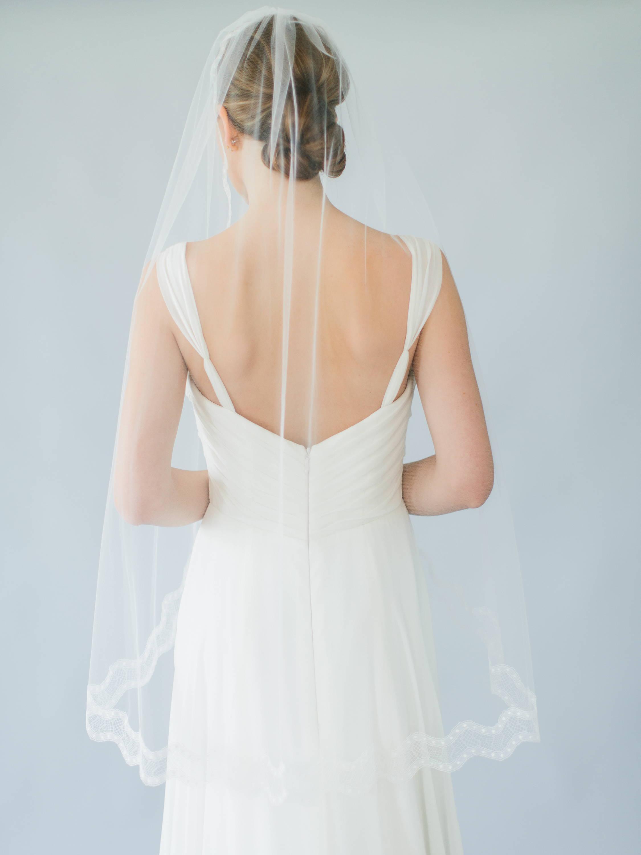 Ampersand Bridal Geneva Fingertip Veil