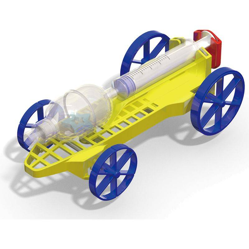DIY AIR PRESSURE POWERED CAR | August Book Week Special | CreativKits Subscribe, Buy or Gift today!
