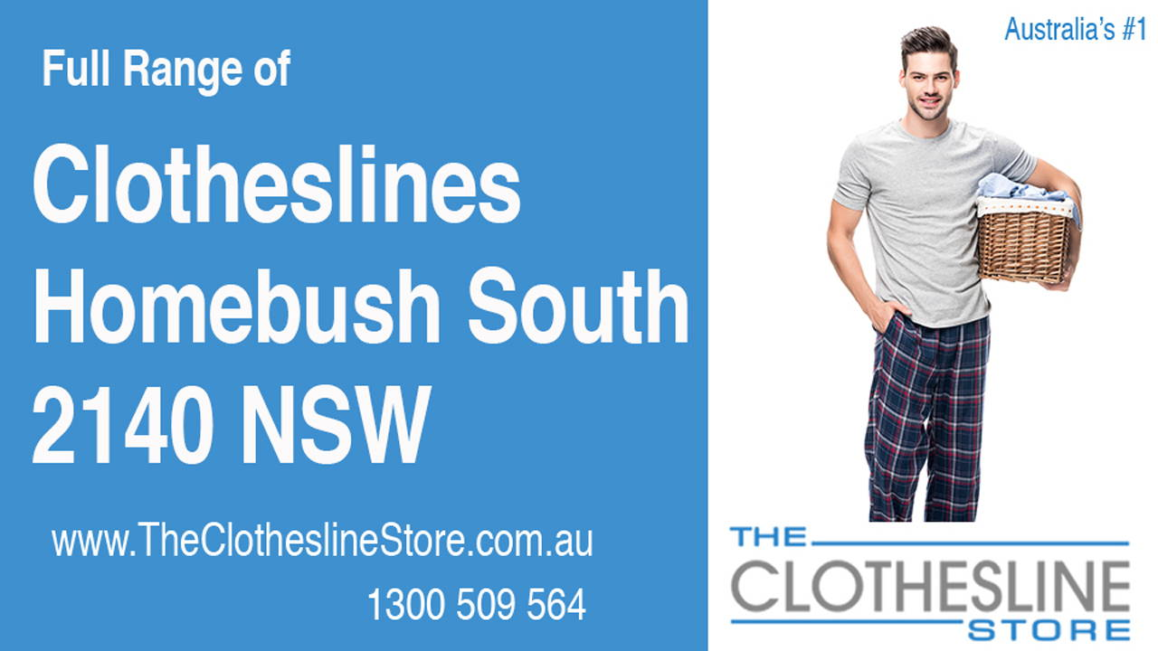 Clotheslines Homebush South 2140 NSW