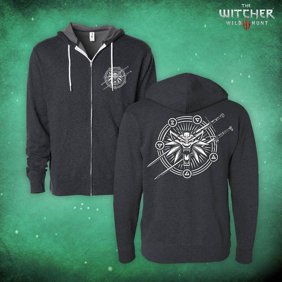 The Witcher 3 Supernatural Zip-Up Hoodie