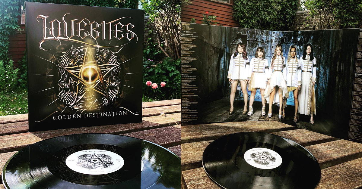 LOVEBITES GOLDEN DESTINATION Vinyl