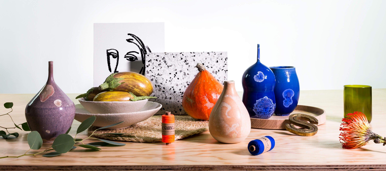Sellerie Herbst-Produkte Setstyling