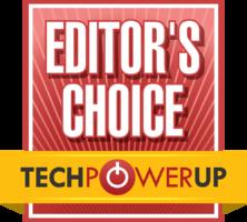 TechPowerUp award