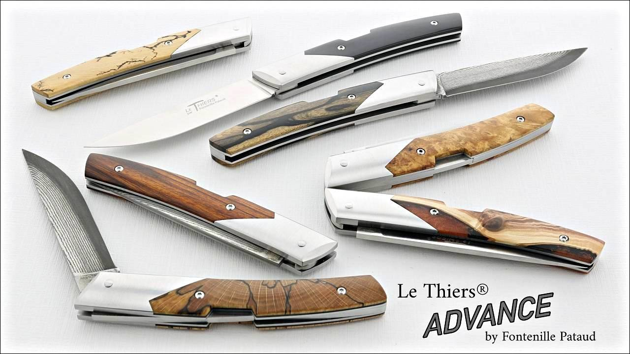 Le Thiers Advance pocket knives by Fontenille Pataud