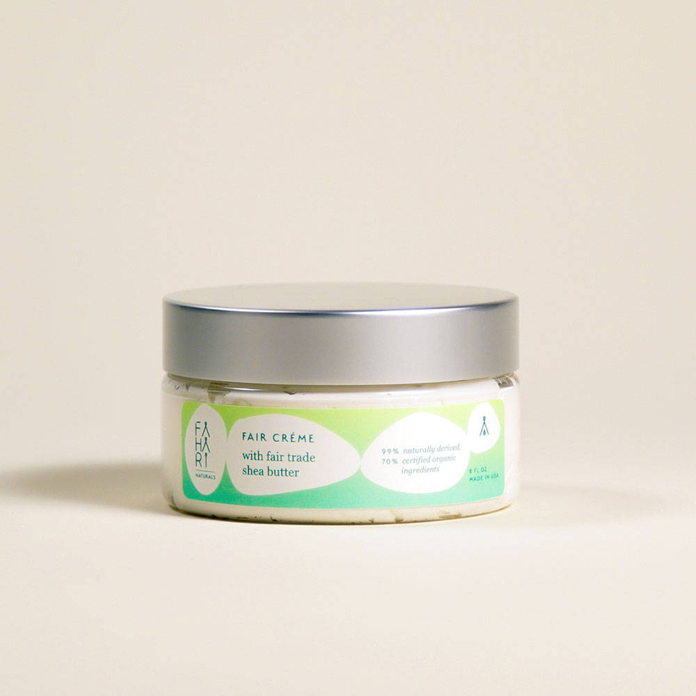 FAIR CREME WITH FAIR TRADE SHEA BUTTER