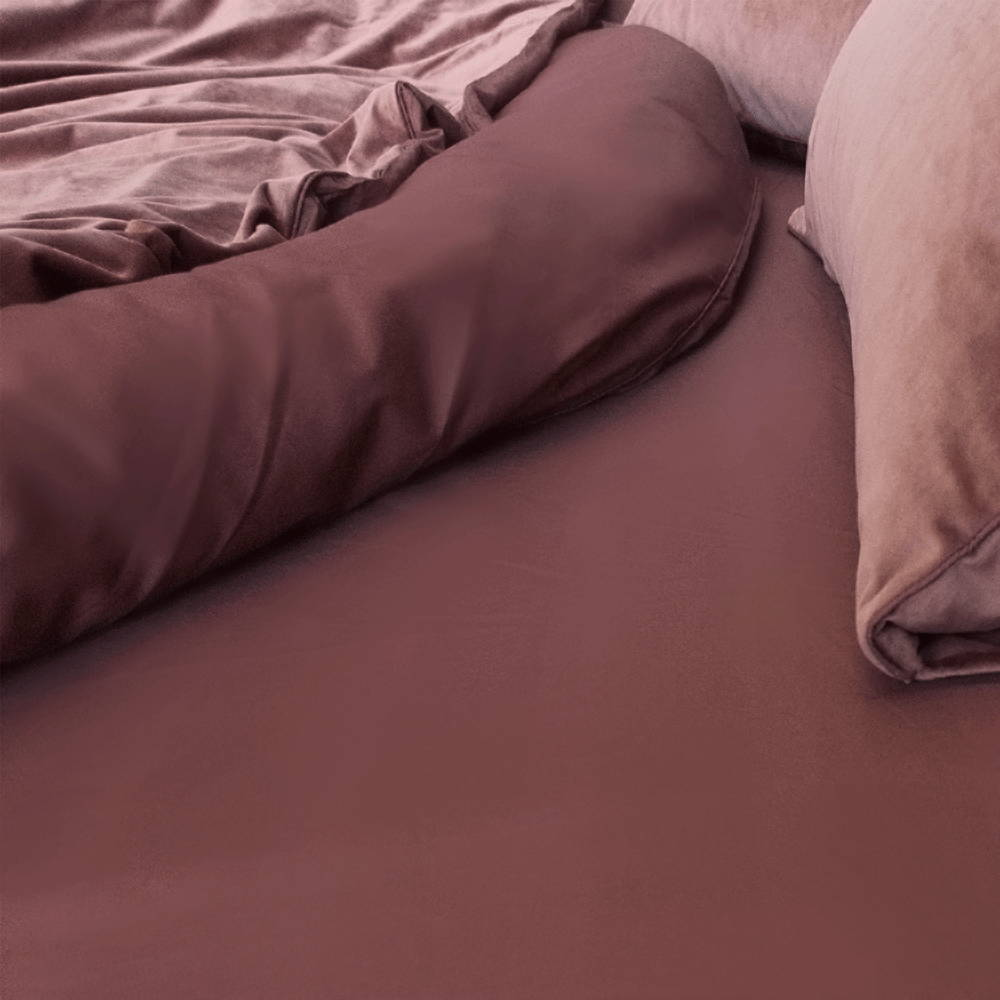 Rose Long-Staple 100% Cotton sheets   The Sheet Society