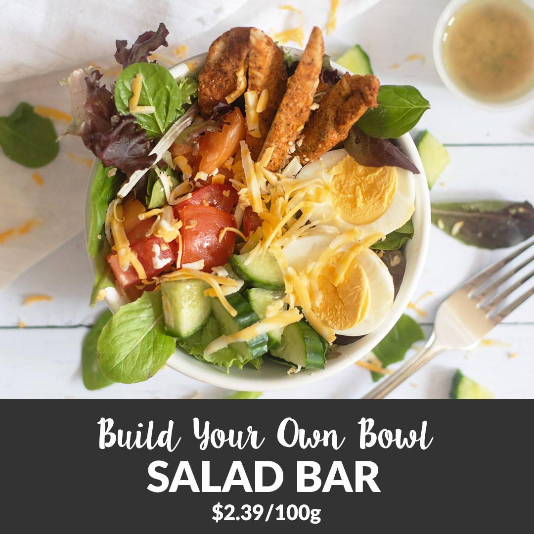 organic salad bar take out