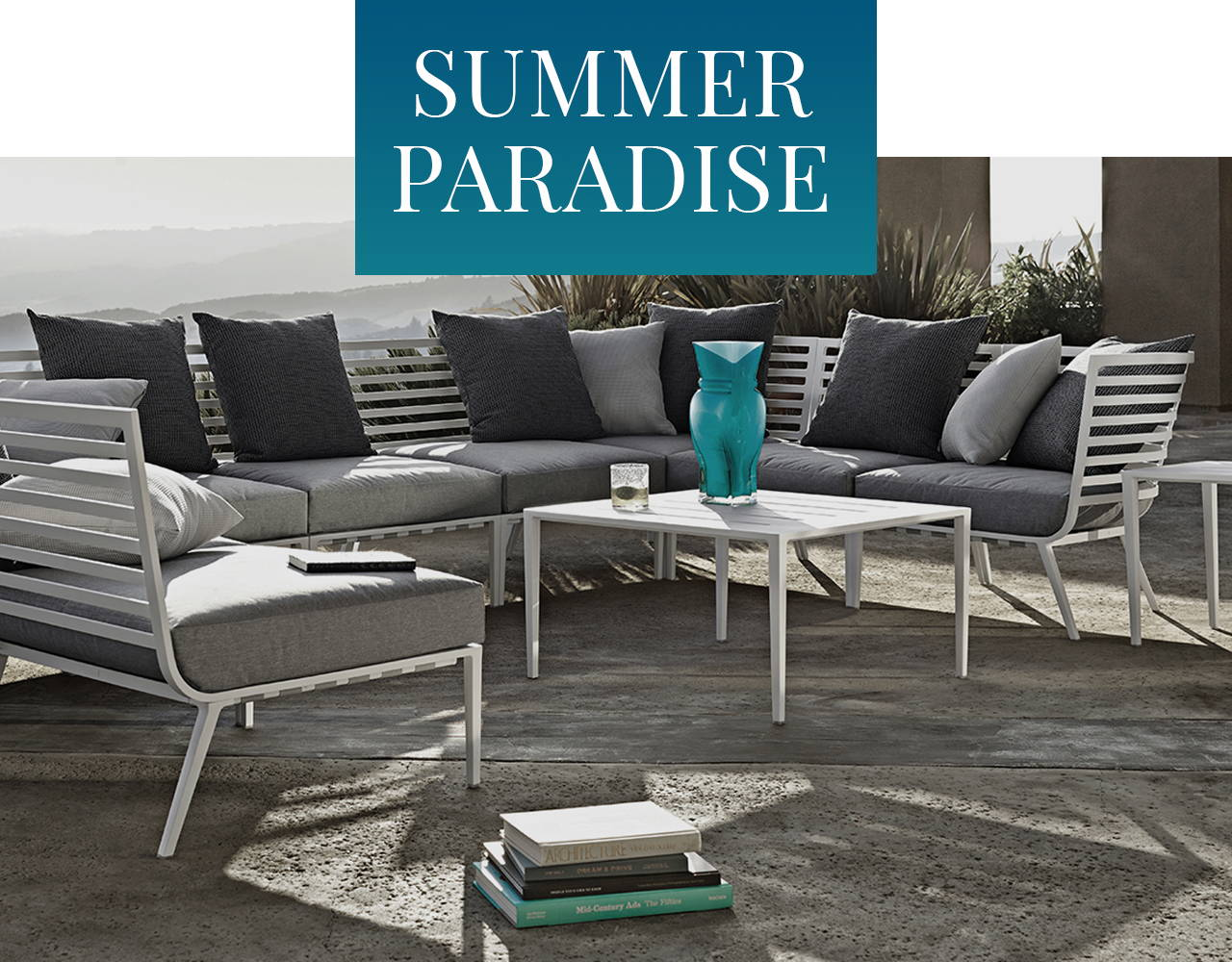 Summer Paradise : Let this be the summer you create your outdoor paradise.