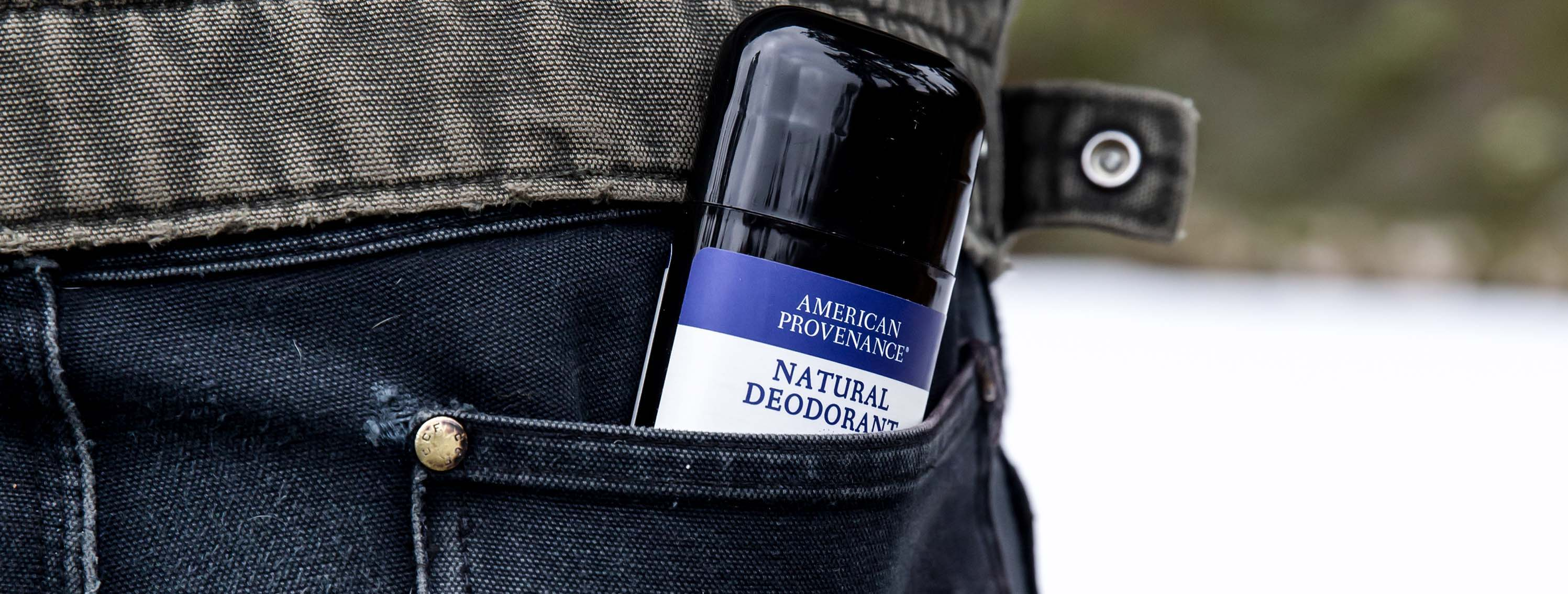 Turn Heads, Not Noses. Choose from any of the 12 scents of American Provenance Natural Deodorants