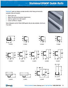 Guide Rail Profiles Sheet