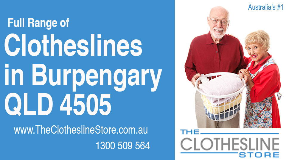 New Clotheslines in Burpengary Queensland 4505