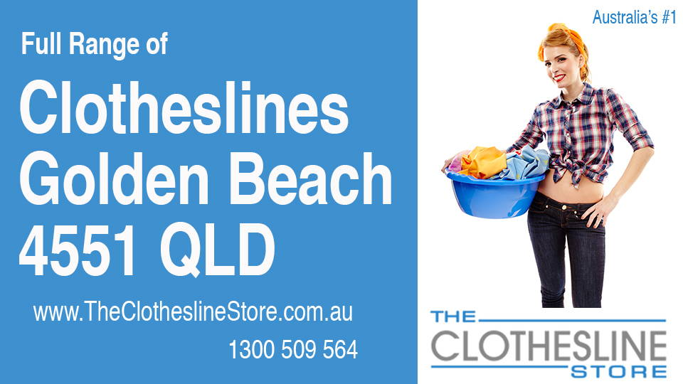 New Clotheslines in Golden Beach Queensland 4551