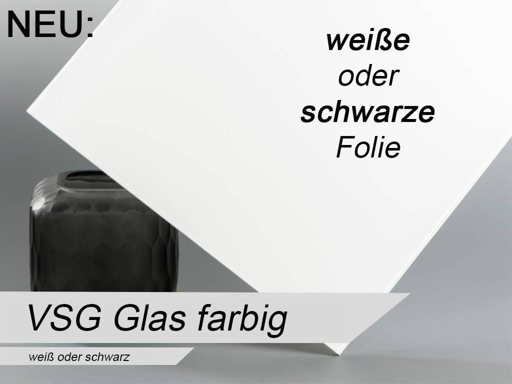 VSG aus TVG weiß oder schwarz