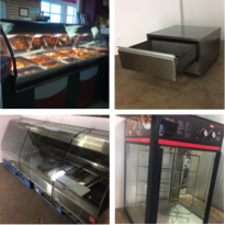 Used Food Warming & Holding Equipment