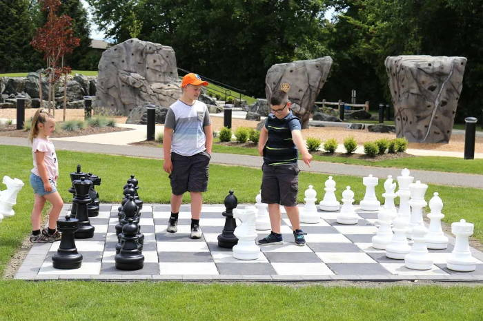 Chess House Premium Giant Chess Sets Pieces Fun Outdoors
