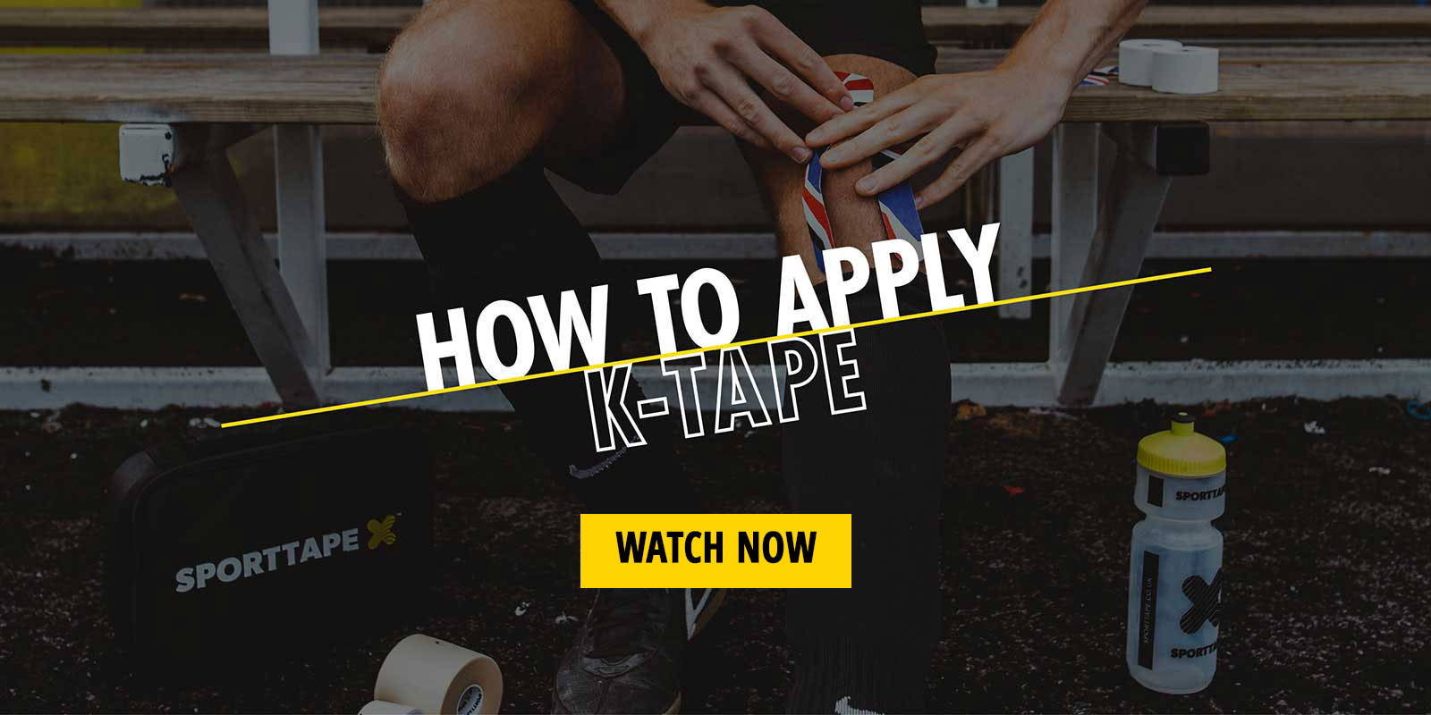 how to apply k tape