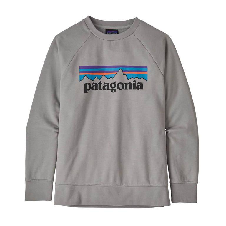 patagonia(パタゴニア)/ライトウェイト クルー スウェットシャツ/グレー/KIDS