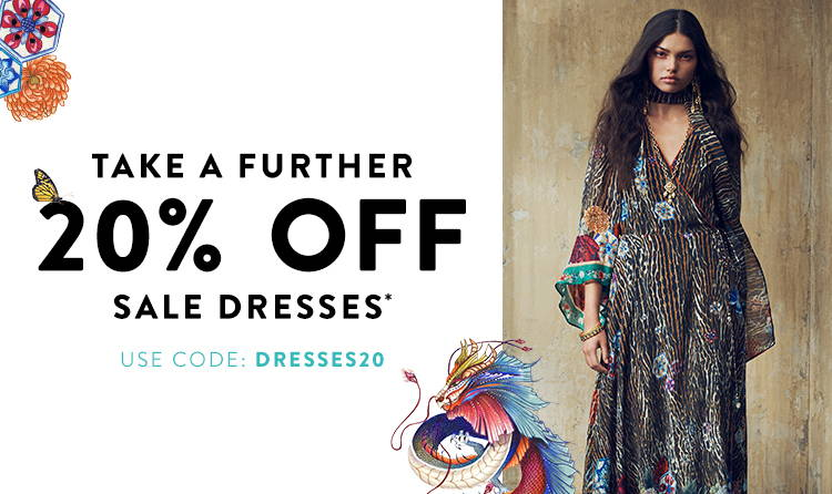 TAF 20% OFF DRESSES