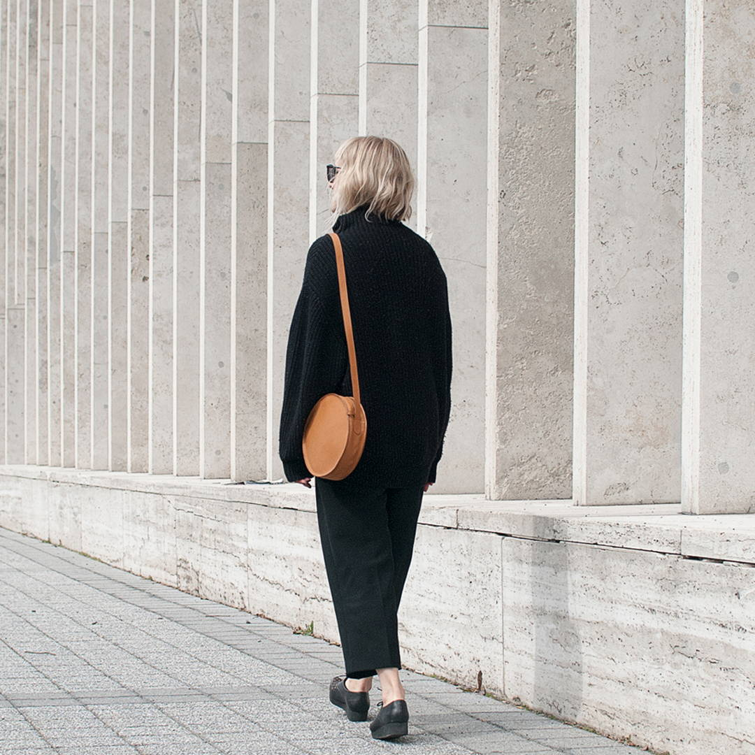 Minimal Leather Crossbody Bags