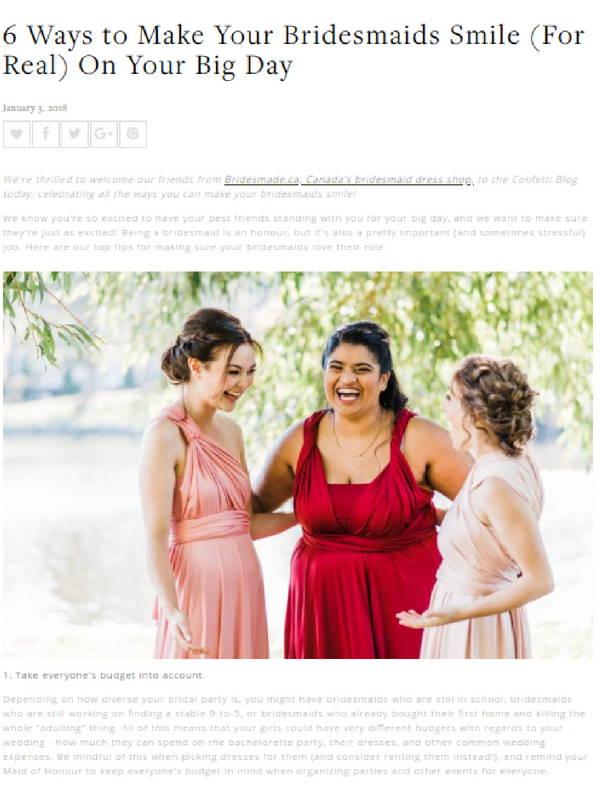 Press Page– BridesMade