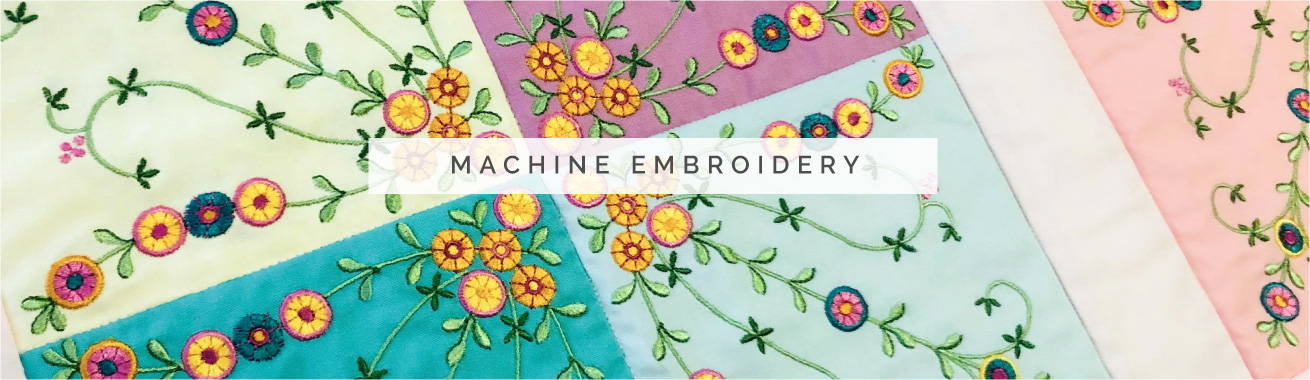 Maker's Lounge - Machine Embroidery