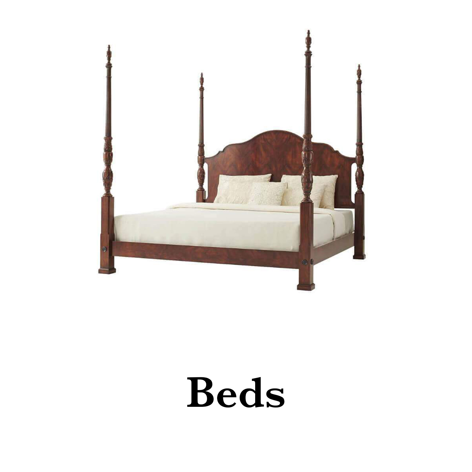antique beds