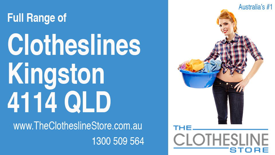 New Clotheslines in Kingston Queensland 4114