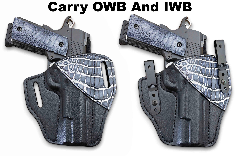HD Springfield XDS IWB Gator Right Hand Black Gun Holster
