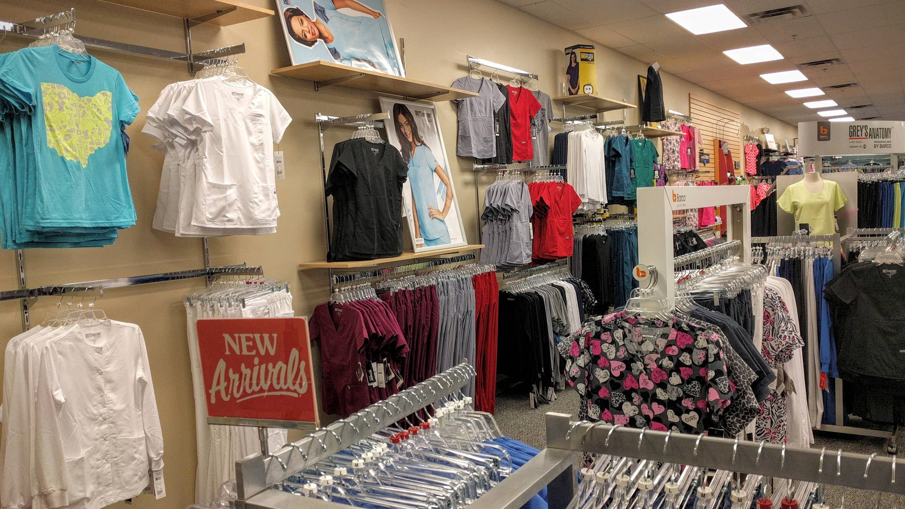 Barco Scrubs and Grey's Anatomy scrubs available at Affordable Uniforms Gahanna