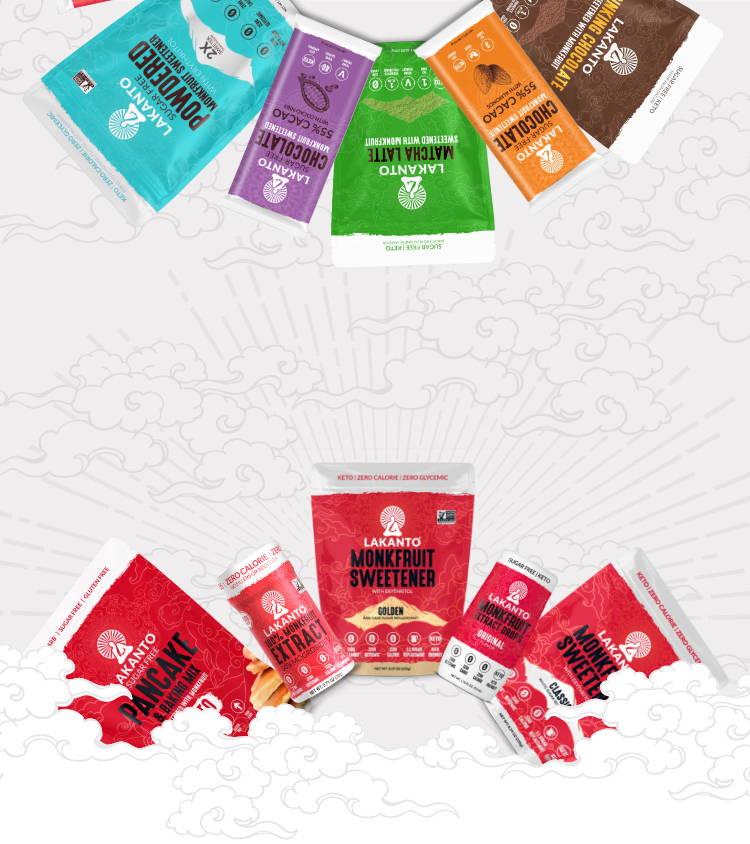 Lakanto Product Banner