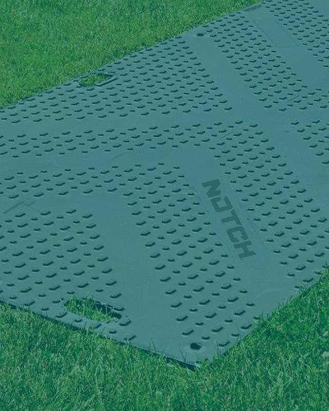 Don't pay to fix your tracks. Free freight with $1200 <br>purchase of mats.