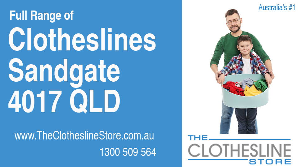 New Clotheslines in Sandgate Queensland 4017