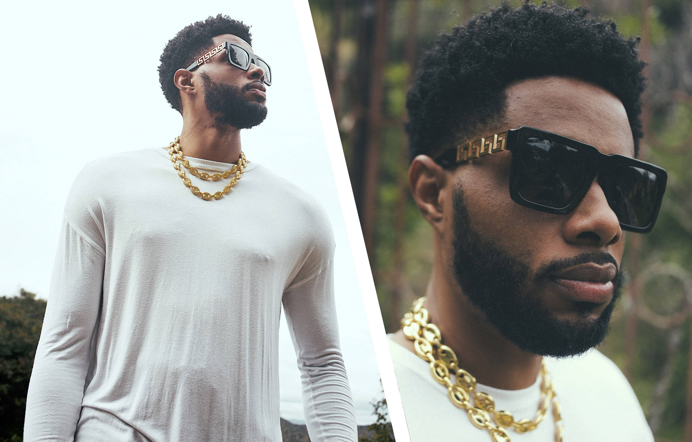 King Ice Shades Collection with Larry Drew II. Photographed by ceethreedom