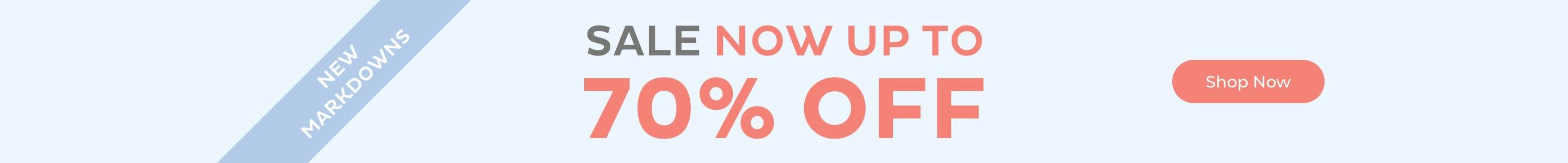 Sale Now Up to 70% Off