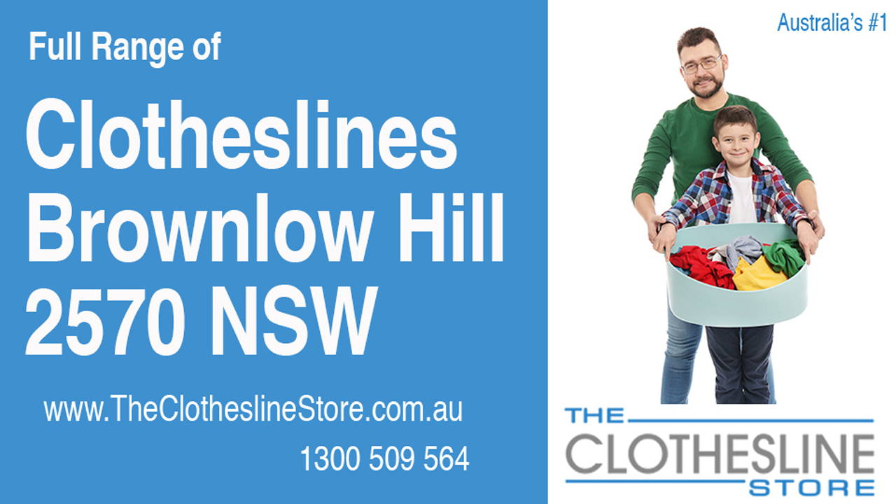 New Clotheslines in Brownlow Hill 2570 NSW