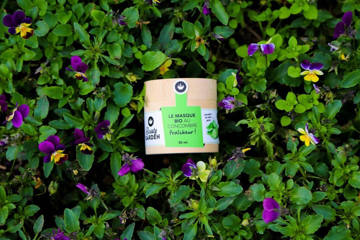 Les masques Bio artisanaux Beauty Garden