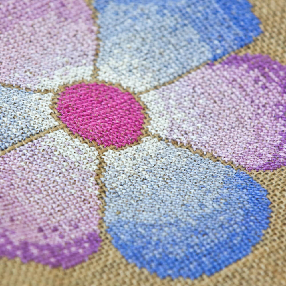 How to navigate a cross stitch pattern