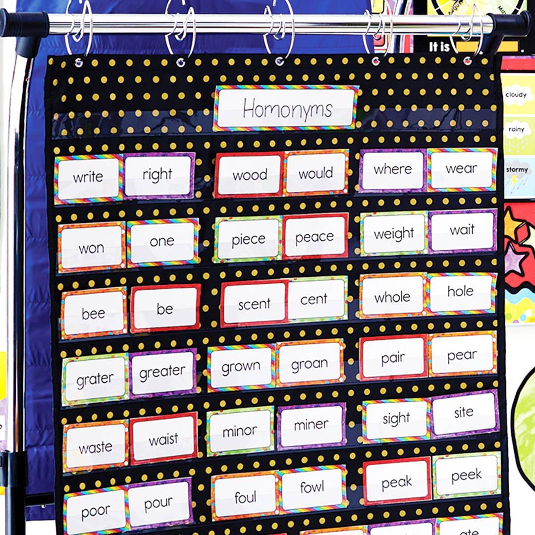 Sparkle + Shine Pocket Chart