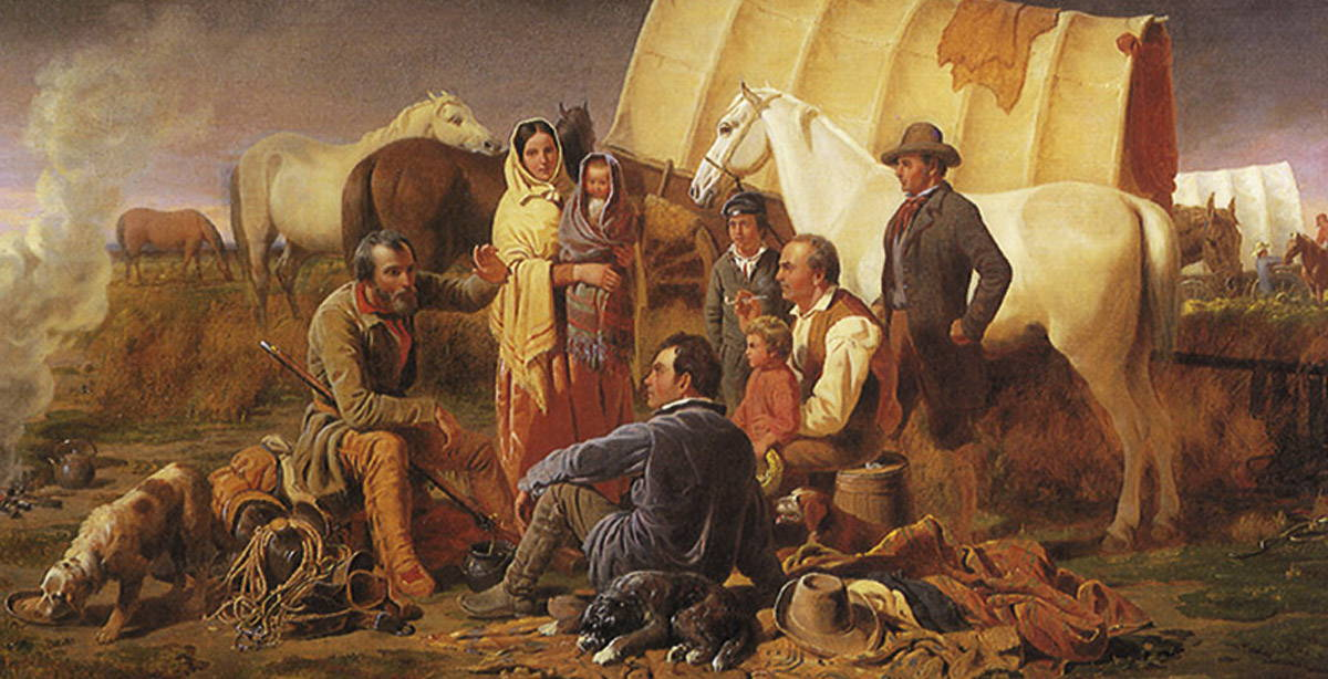 Advice on the Prairie By William Tylee Ranney, 1853