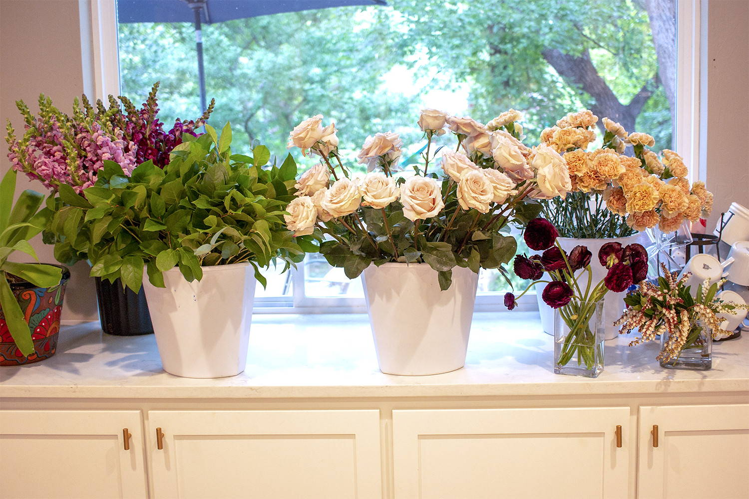 how to prep flowers