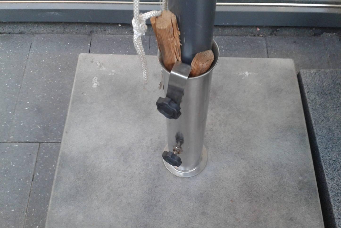 parasolfod løst rør