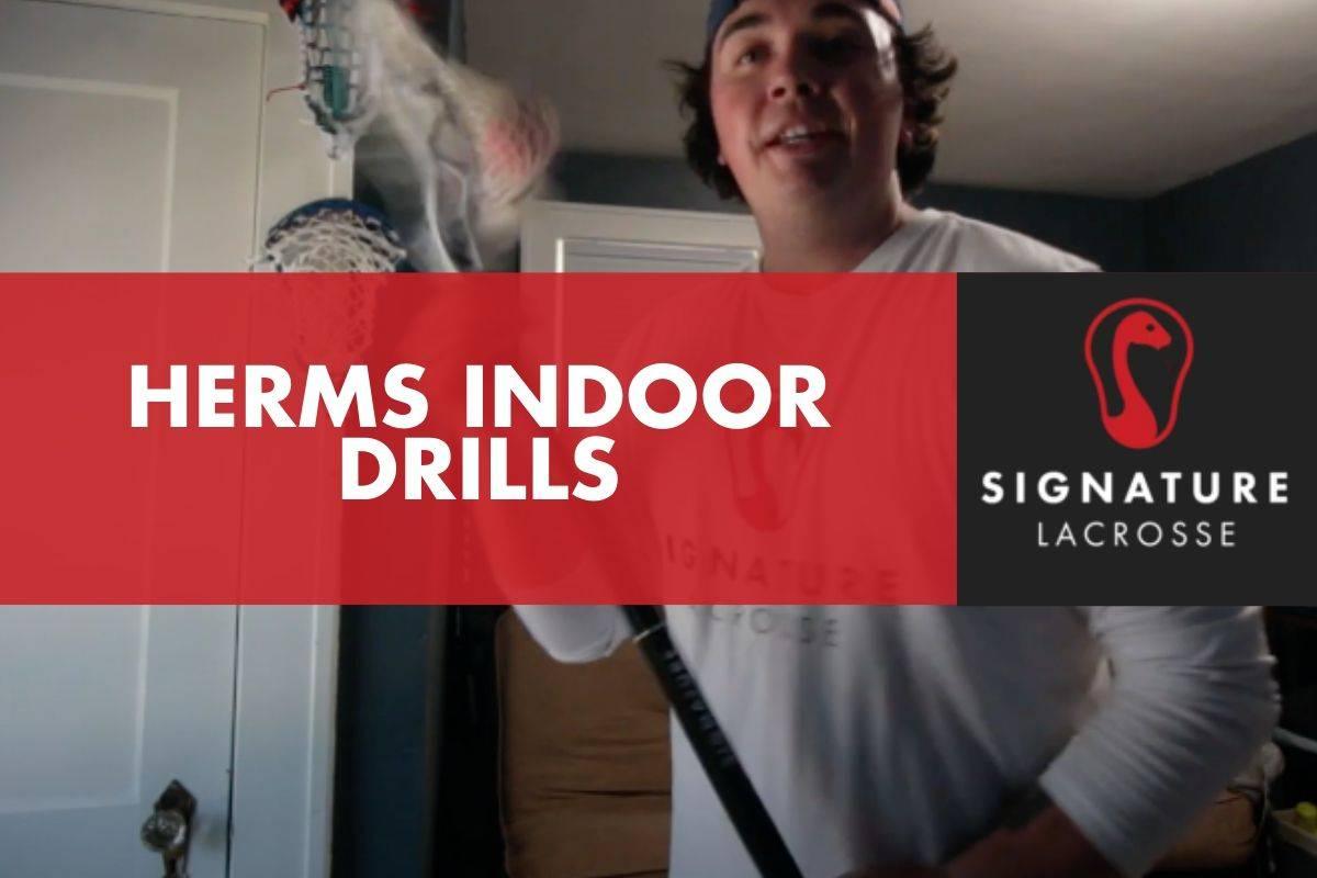 indoor lacrosse drills