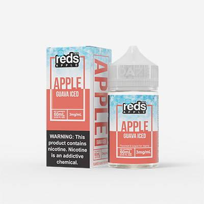 reds apple guava iced e liquid