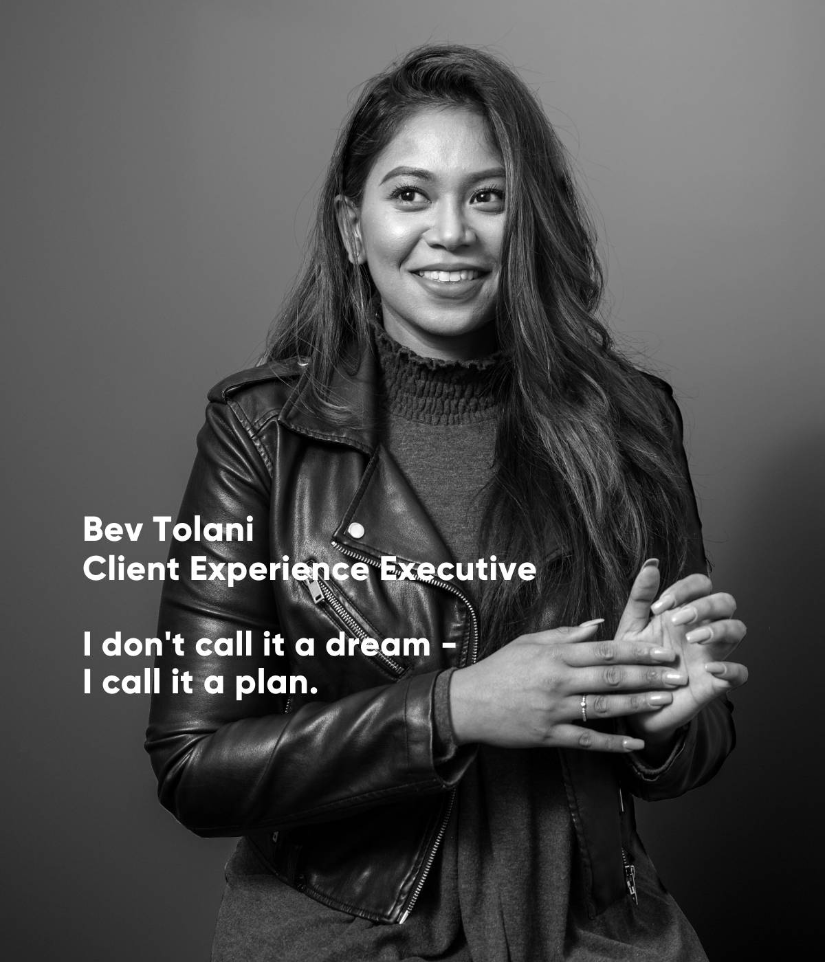 Bev Tolani, Client Experience Executive