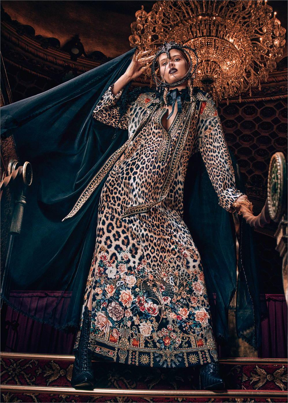 camilla new arrivals, leopard print dress