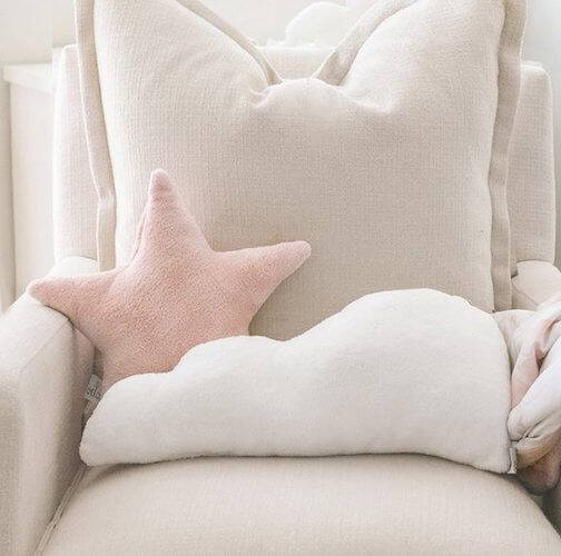 Oilo Cloud and Star Dream Pillow Set