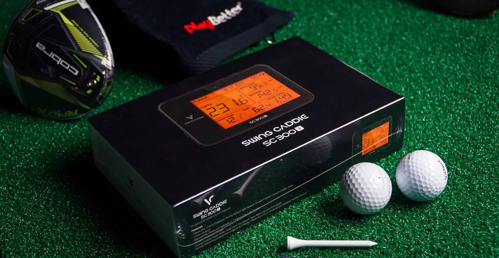 Swing Caddie SC300i golf launch monitor by Voice Caddie